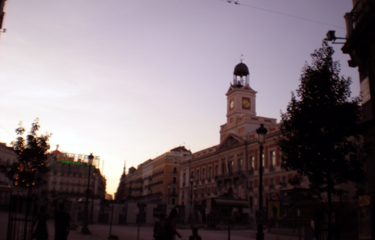 Sunrise at the Puerta Del Sol