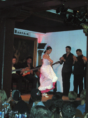 Flamenco at the Corral de la Moreria